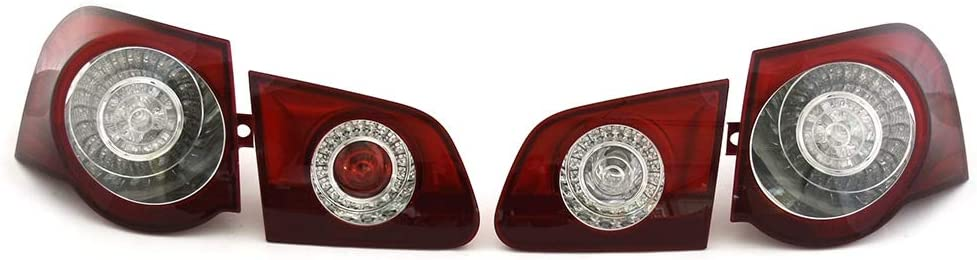Original Passat B6 3c Variant R36 Led Schlussleuchten Set Tuning Rückleuchten Rücklichter Abgedunkelt Zur Nachrüstung Auto
