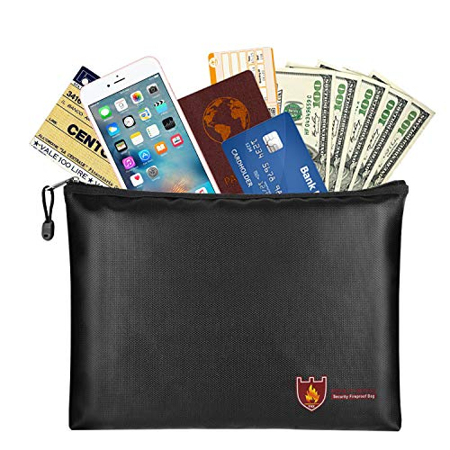 Fireproof Money & Document Bag, MoKo B5 Size (11.8