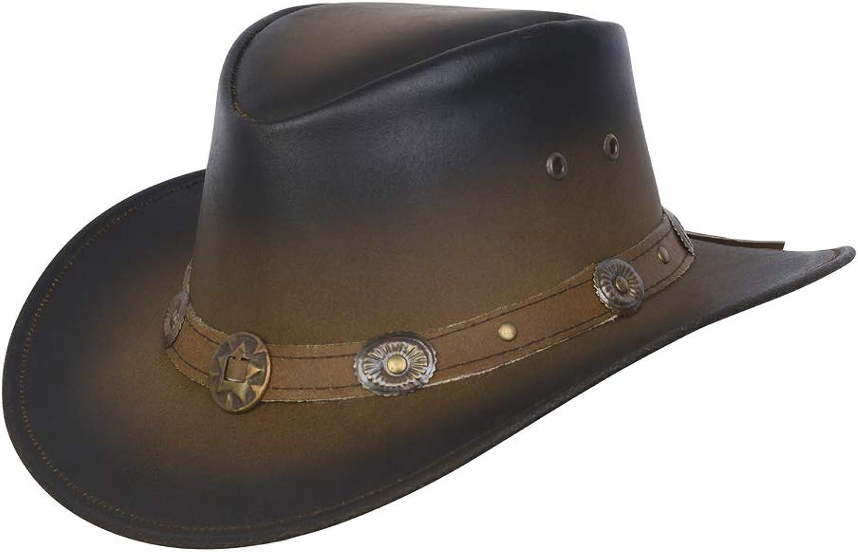 New del Cappello Stile Cowboy Western Aussie Conchos Taglia S-XXL