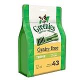 Greenies Grain Free Teenie Dental Dog Treats, 12 Oz. Pack (43 Treats)