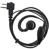 AOER Swivel Earpiece Earhook/Earhanger Rotating Headset for Motorola CT450LS CLS1110 CP88 CP100 BearCom BC130 VL50 VL130 MagOne BPR40 EP450 AU1200