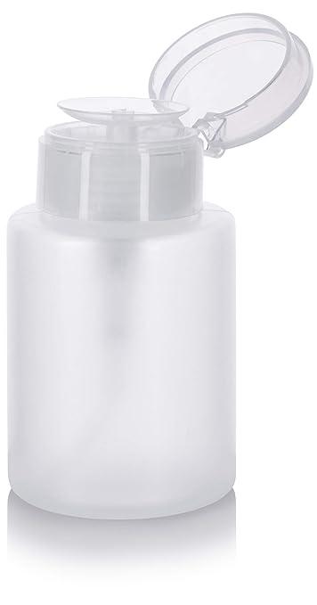 2d300971d99a One Touch Pump Dispenser Bottle with Flip Top Cap - 5.4 oz
