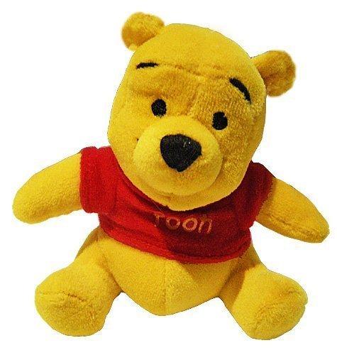 海外直輸入品 正規品 くまのプーさん おもちゃ フィギア ぬいぐるみ Disney Baby Winnie the Pooh Play Pals Rattle【JOY】   B002PJPVBM