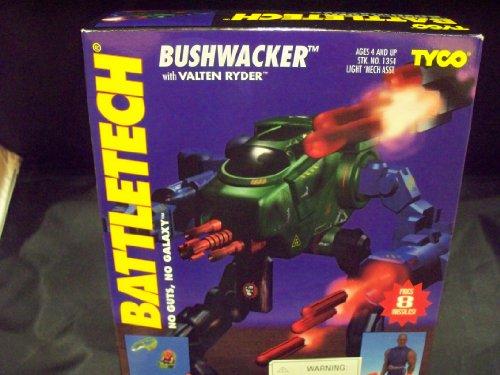 Battletech Bushwacker with Valten Ryder Vintage Action Figure Set