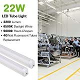 10 Pack LED Shop Light 4FT, T5 Integrated Single