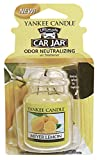 Yankee Candle Gel Car Jar Ultimate Air Freshener, Meyer Lemon Scent Fast Shipping