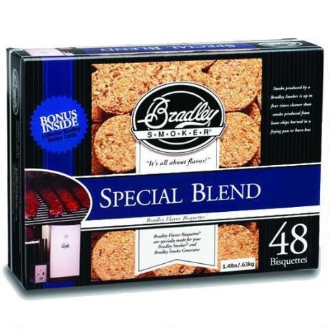 Bradley Smoker BTSB48 Special Blend Bisquettes44; Pack - 48