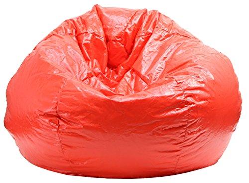 Gold Medal Bean Bags Wet Look Vinyl Bean Bag, Medium/Tween, Red ()