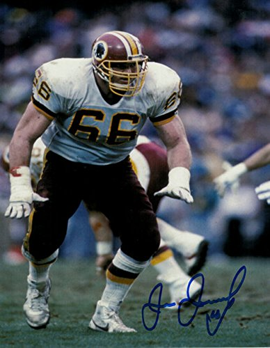 Joe Jacoby Autographed Washington Redskins 8x10 Photo by DenverAutographs