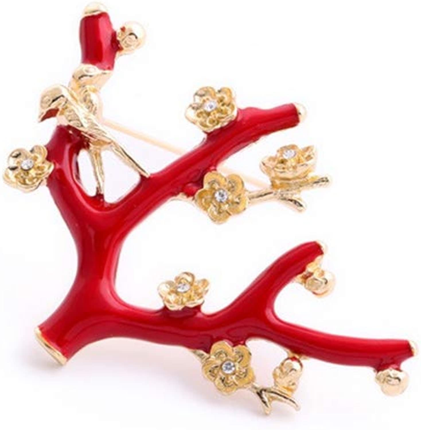 ForeverandEver Christmas Rainbow Rhinestone Deer Brooch for Decoration Santa Claus Shoes Brooch Pin Carriage Jewelry Gifts