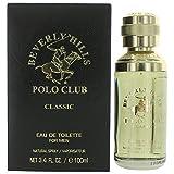 Beverly Hills Polo Club Classic Eau de Toilette Spray for Men, 3.4 Ounce