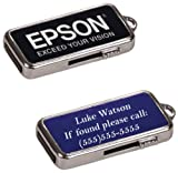 Custom Personalized Engraved 4GB USB Flash Drive w/ Key Chain
