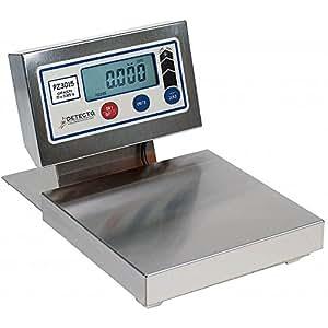 "Detecto PZ3015L Scale pizza/ingredient digital display 15 lb. x 1/8 oz 12"" x 12"""
