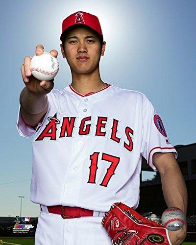Angels Angeles Photograph Los (Shohei Ohtani Los Angeles Angels MLB Photo (Size: 8