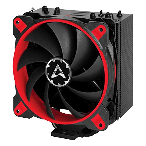 ARCTIC Freezer 33 Esports ONE - Tower CPU Cooler with 120 mm PWM Processor Fan for Intel and AMD Sockets - for CPUs up to 200 Watts TDP - Silent and Efficient (Red)