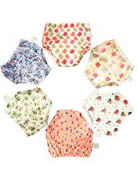 6 Pack Potty Training Pants for Boys Girls, Learning Designs Training Underwear Pants(1T-4T)