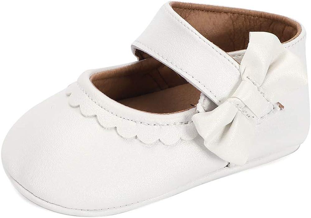 Lacofia Zapatos Antideslizantes Primeros Pasos para bebé niñas con Suela Bailarinas bebé niña: Amazon.es: Zapatos y complementos