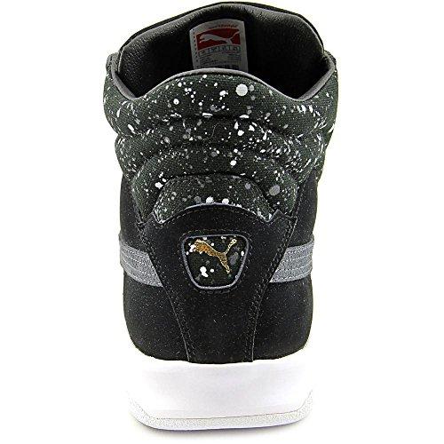 Puma Mens Défi Splatter Chaussures Noir / Ombre Foncée