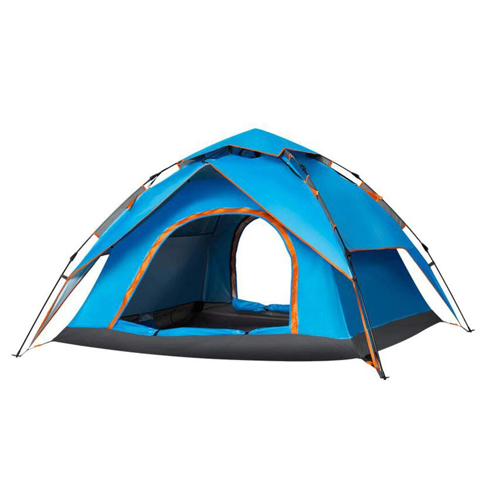 Dall zelte Zelt Pop-up Camping Wasserdicht Sofortig Reise Double Layer 200  230  140 cm (Farbe : Blau)