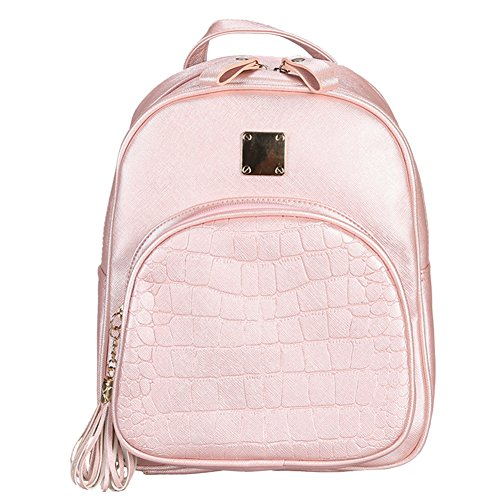 Widewing - Backpack Bag Unisex Adult Pink Leatherette