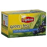 Lipton Green Tea Bags, Superfruit, Purple Acai & Blueberry, 20 ct, 3 pk Review