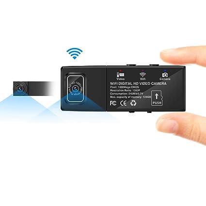Cámara espía, AZX, Mini WiFi HD 1080P Cámaras espía para Mac/Android /