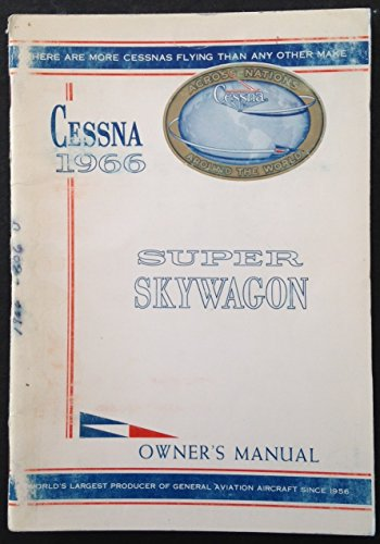 Cessna 1966 Super Skywagon Owner's -