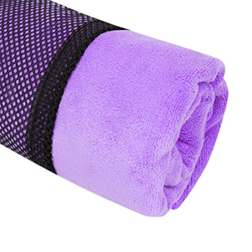 "Nlife Sport Towel Travel Towel Quick Drying Microfiber Perfect for Gym, Camping, Hiking, Beach, Pool, and Bath (11.8"" x 39.37"", 7 Colors)"