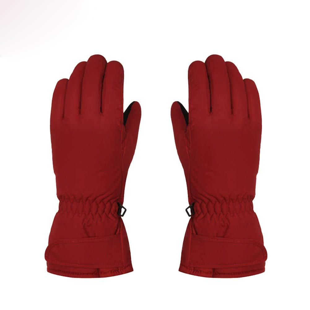 Mens Autumn and Winter Thickened RcnryGloves Warm and Touch Screen.