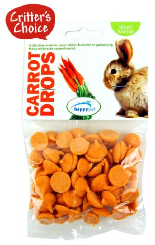 Critters Choice Small Animal Carrot Drops 75g