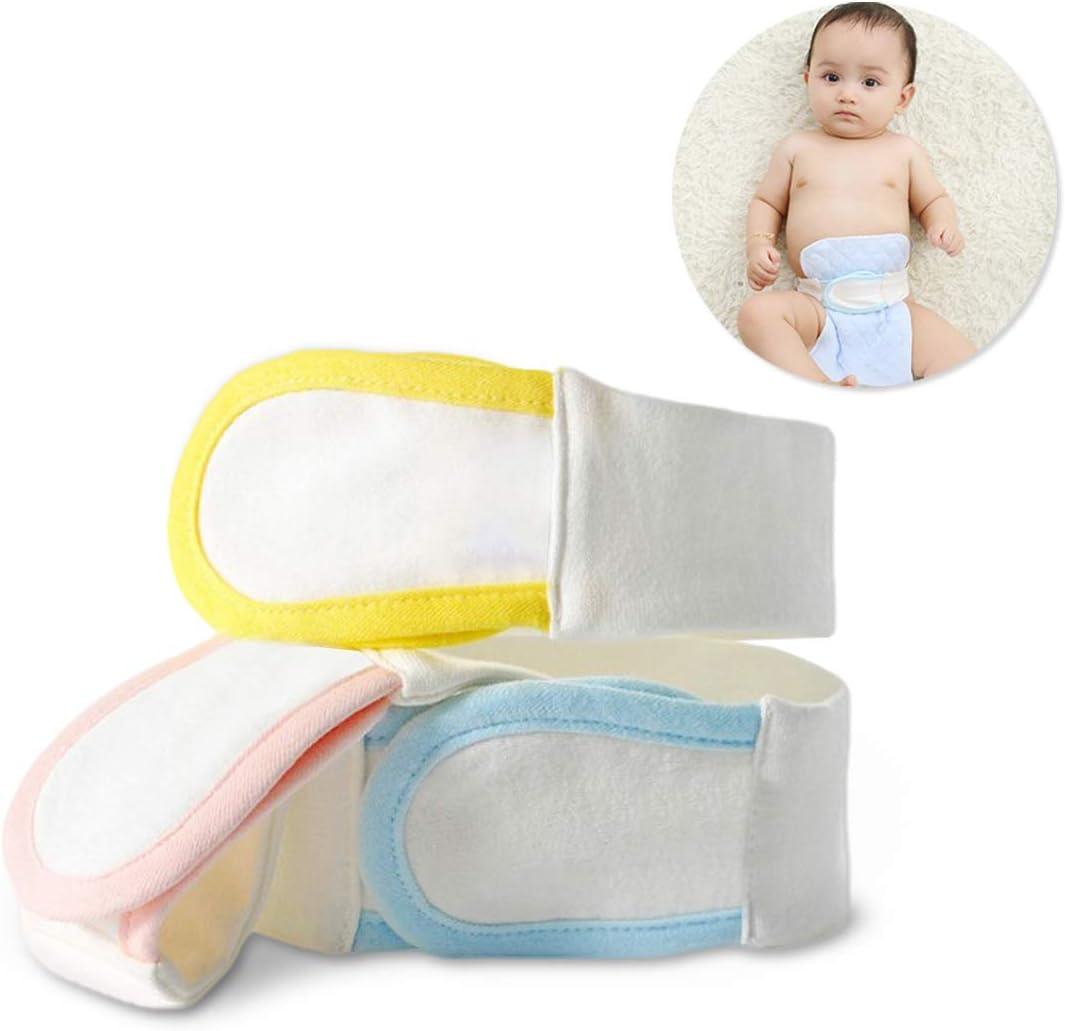 Cinturón de pañales para bebé, cierre de pañales, algodón reutilizable, cierre de pañales ajustable para recién nacido, cinturón fijo (3 unidades): Amazon.es: Bebé