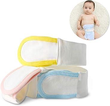 Cinturón de pañales para bebé, cierre de pañales, algodón ...