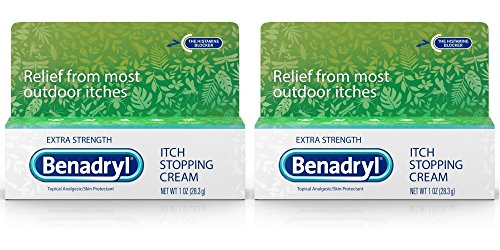 Benadryl Extra Strength Anti Itch Cream 1 Oz Tube (Pack of ()