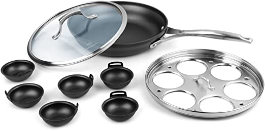 Amazon.com: Calphalon Unison Slide 10-in Fry Pan & accesorio ...