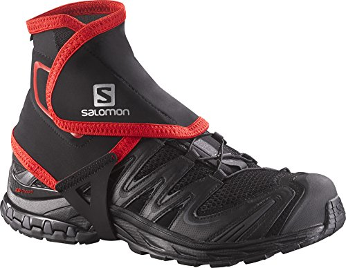 Salomon High Trail Gaiters, Black, Large, Size 9.5 - 12