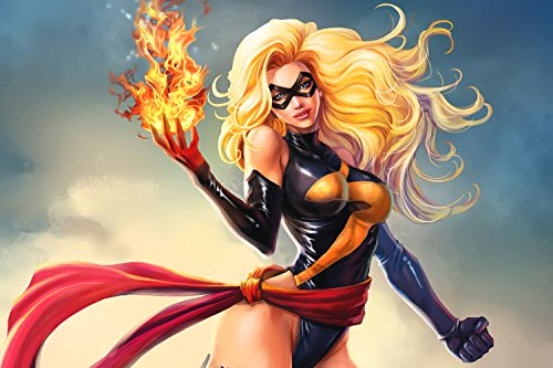 Ms Marvel Superhero Poster