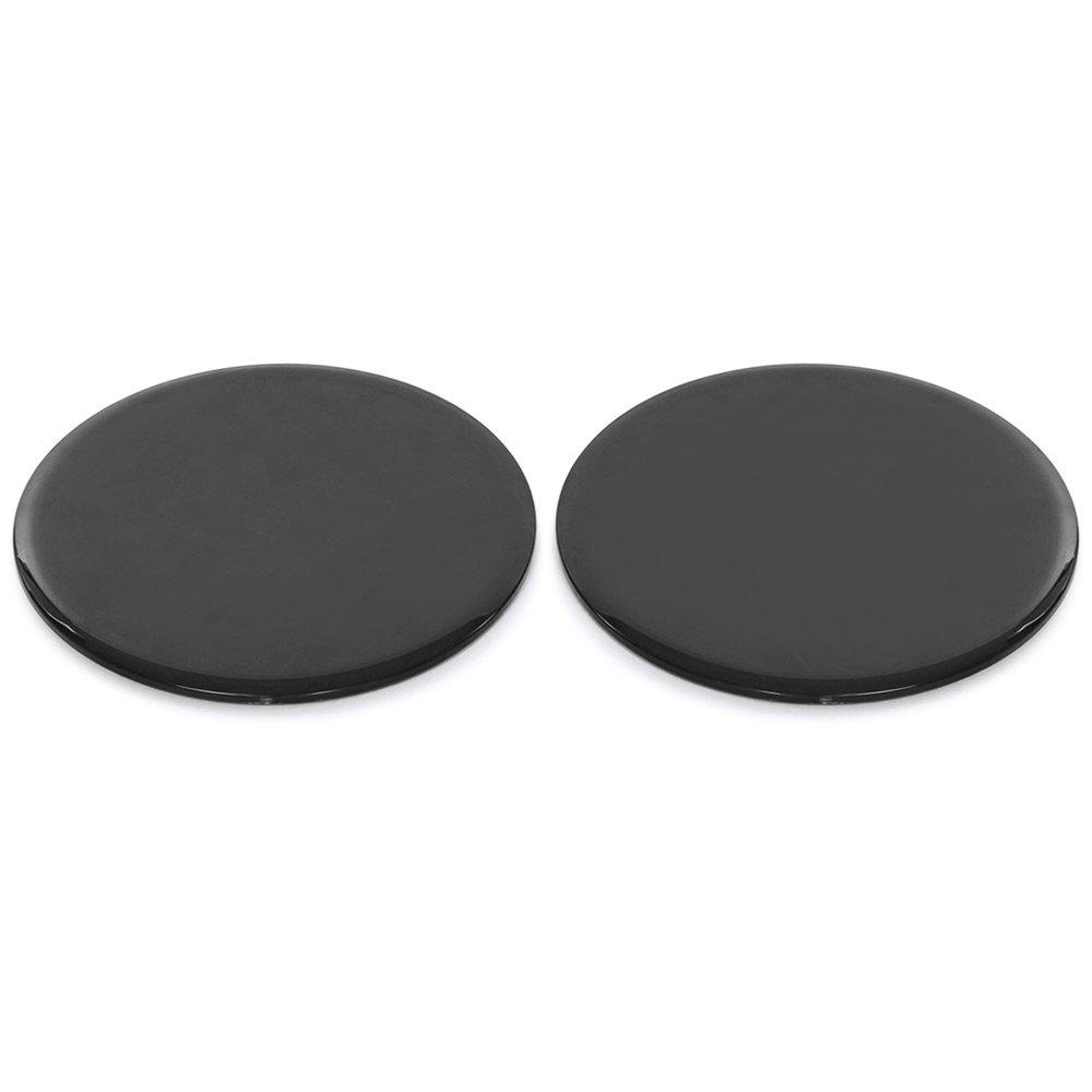 Sungpunet 1/par de Placa Deslizante de Ejercicios de Disco de Deslizamiento de Forma f/ísica Black