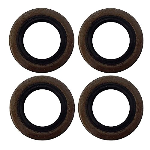12192TB Four Double Lip Grease Seals For 2000# Trailer Axles BT8 Spindle 1.249