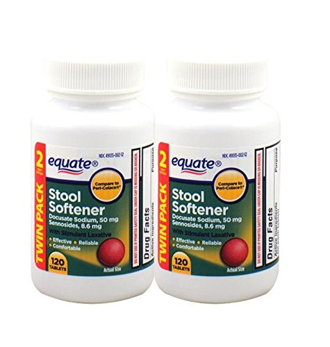 Equate Stool Softener With Stimulant Laxative 240