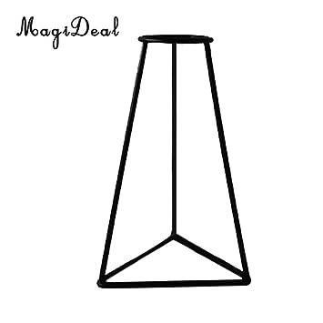 MagiDeal Qualitäts Metall Eisen Blumen Anlage Vase Topfständer Halter Heim  Tabelle Dekor Für
