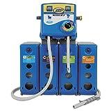 Zep Professional 1045914 Advantage+ 4/1 Wall Mount Dispensing System, Plastic/Metal, 19.5'' x 6.75'' x 29'', Blue