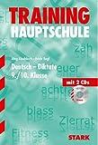 img - for Hauptschule Training Deutsch Diktate 9. Klasse. Mit 2 CDs. book / textbook / text book