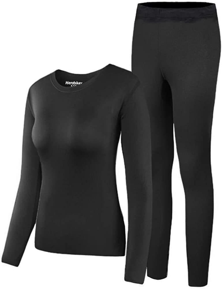 Womens Brand New Steiner Silk Long Sleeve Vest Thermal Base Layer 0792B//L