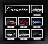Framed Corvette Seven Generations Collage
