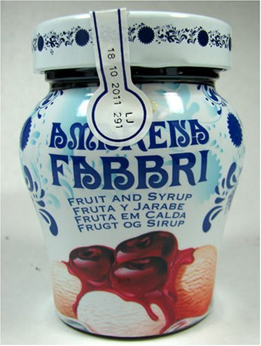 Fabbri Amarena Cherries In Syrup, 8.1 Ounce