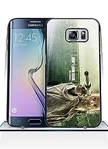 Premium Flexible Funda Case For Galaxy S6 Edge Plus, The Walking Dead [Scratch-Resistant] Pattern For Boys Suit For Samsung Galaxy S6 Edge Plus Funda Case Cover