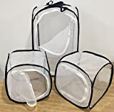 Butterfly Cage/terrarium Pop-up Value Pack of 3