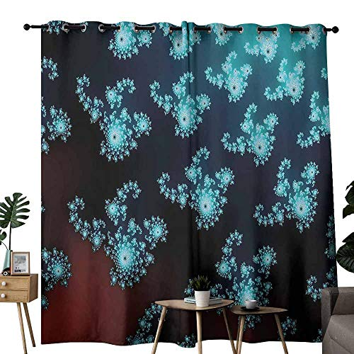 Mannwarehouse Fractal Privacy Curtain Trippy Forms for sale  Delivered anywhere in USA