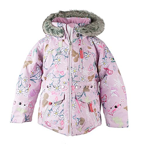 Obermeyer Kids Baby Girl's Taiya Jacket (Toddler/Little Kids/Big Kids) Snowday 3T by Obermeyer Kids