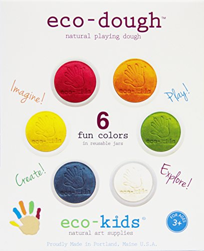 eco-kids Dough, 6 Piece made in Maine